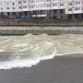 Река Большая Алматинка выходит из берегов