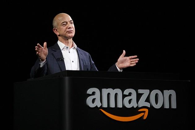 Джефф Безос признан самым богатым бизнесменом вистории