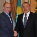 Назарбаев и Путин обсудили вопросы использования Байконура