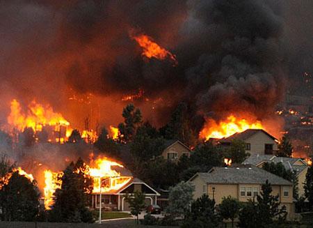 Убытки от пожара в Колорадо оцениваются в $350 млн.