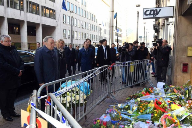 Нурсултан Назарбаев прибыл с рабочим визитом в Бельгию