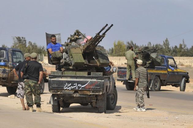 Ливийские военные освободили город-порт Сирт от боевиков ИГ