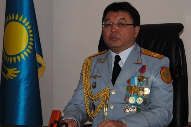 Назначен начальник ДВД Костанайской области
