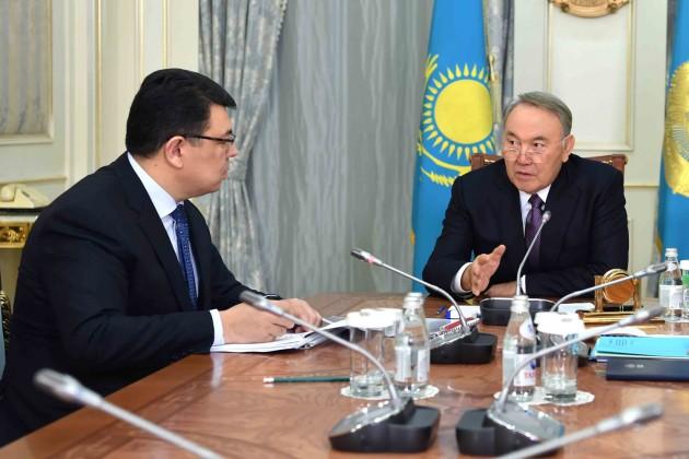 Нурсултан Назарбаев встретился сКанатом Бозумбаевым