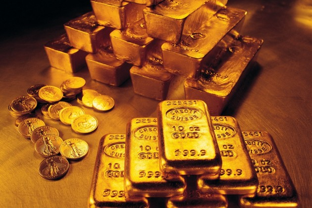 На мировом рынке снижается спрос на золото