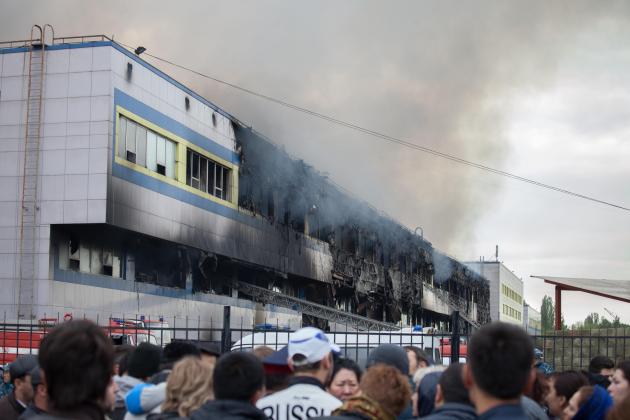 По факту пожара в Адеме заведено два уголовных дела