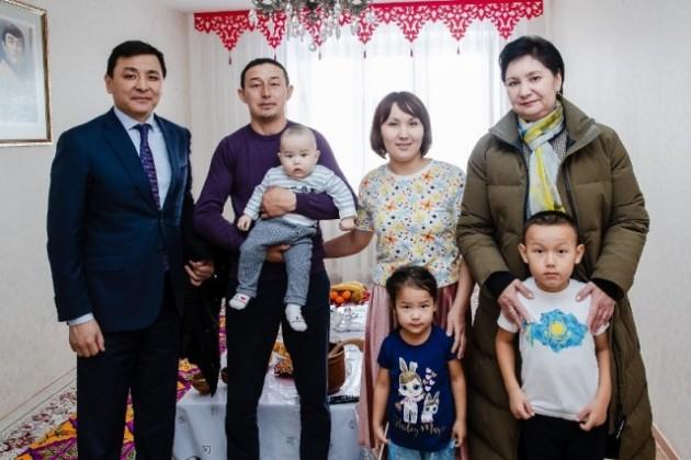 Вице-премьер встретилась с многодетными семьями Уральска