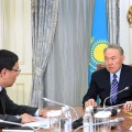 Ерболат Досаев отчитался перед Нурсултаном Назарбаевым