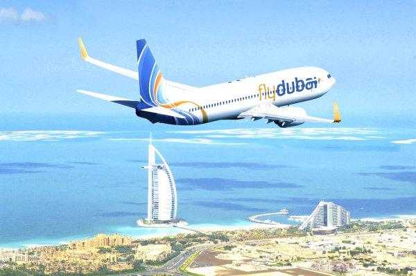Стала известна причина отмены рейса Дубай - Шымкент
