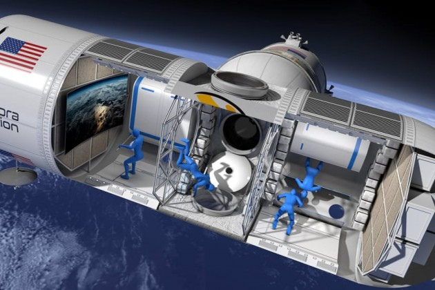 Вкосмосе откроется первый отель