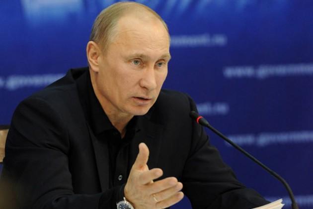 Доходы Путина за год выросли вдвое