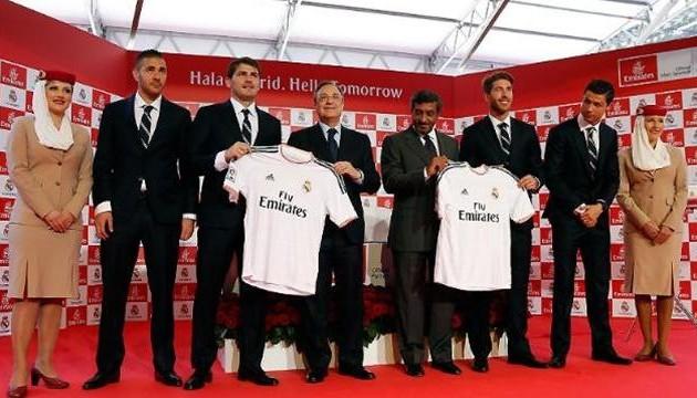 «Реал» подписал спонсорское соглашение с Emirates