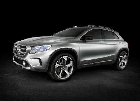 Mercedes-Benz GLA рассекречен!