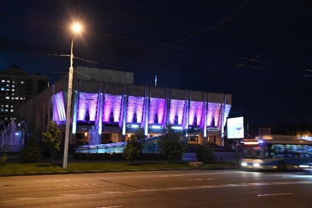 Архитектурную подсветку получили более 120объектов Алматы