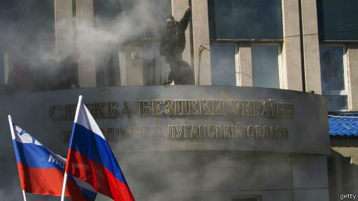 В Донецке и Луганске захвачены здания администрации