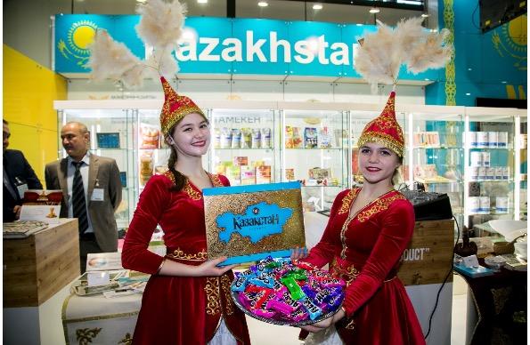 Казахстанский шоколад представили на выставке в Германии