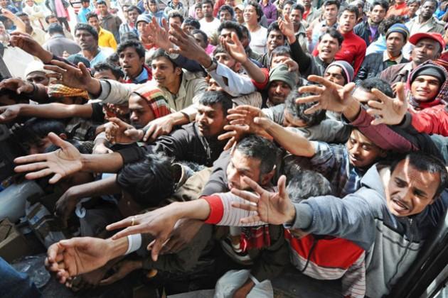 Ожидаемый поток беженцев в Европу - 850 тысяч человек