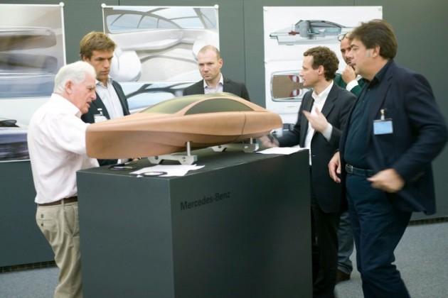 Mercedes-Benz Style утвердила дизайн морского Granturismo