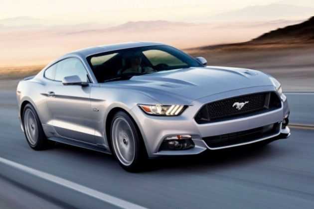 Ford Mustang: официально