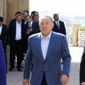 Нурсултан Назарбаев встретился сШавкатом Мирзиёевым вСамарканде
