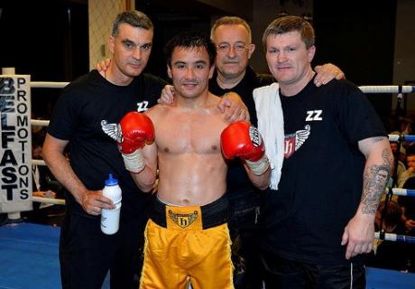 Жакиянов одержал очередную победу на профессиональном ринге