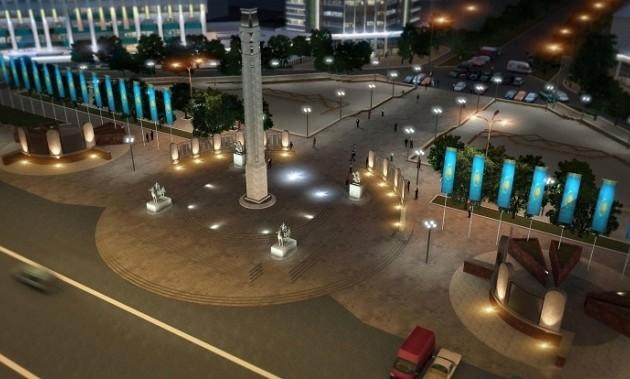 Новая подсветка зданий в Алматы обойдется в 2 млрд тенге