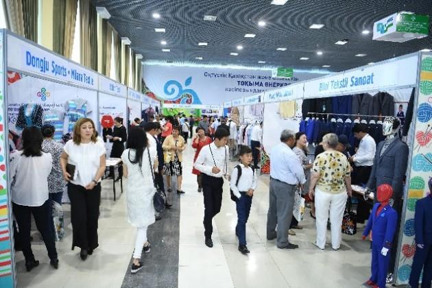 ВШымкенте проходит выставка текстильной промышленности