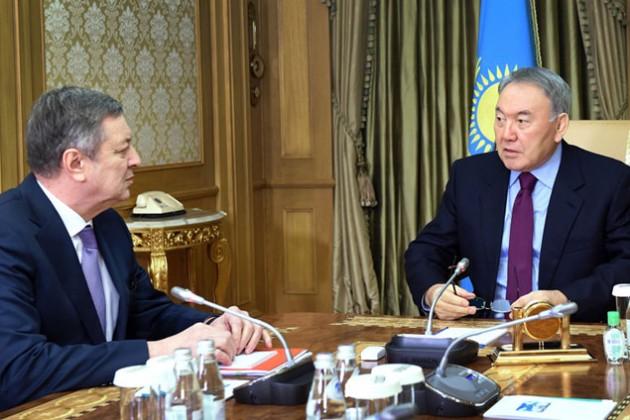 Владимир Школьник отчитался перед президентом