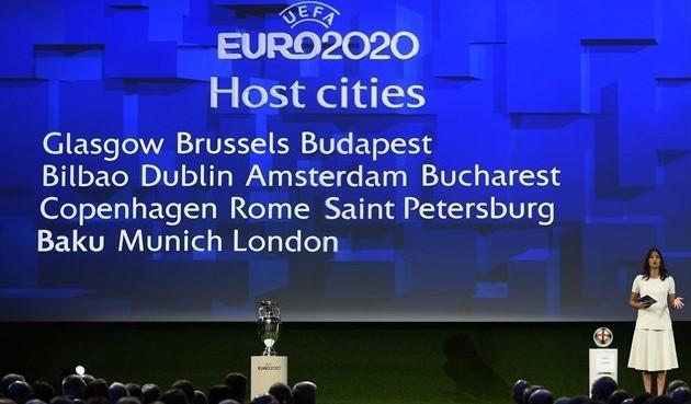 Определены 13 городов, которые примут Евро-2020