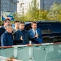 Новый аким Астаны проверил строительство крупнейших объектов