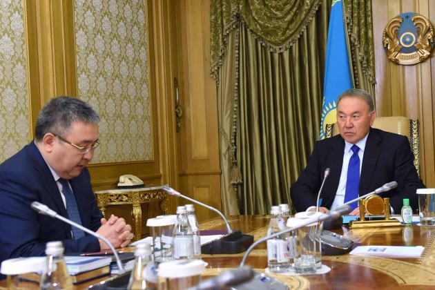Талгат Донаков отчитался перед президентом