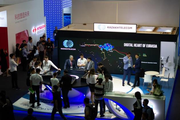 Казахтелеком принял участие в Mobile World Congress Shanghai 2019
