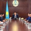 Бакытжан Сагинтаев обозначил сферы деятельности новых заместителей