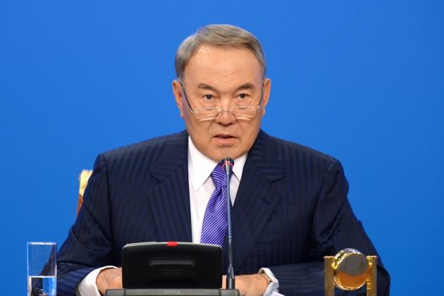 Назарбаев выразил беспокойство по поводу ситуации в Украине