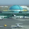 В аэропорту Астаны временно изменился график
