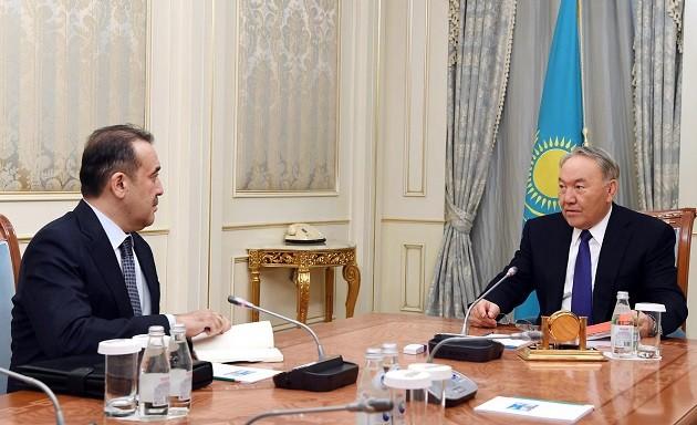 Нурсултан Назарбаев дал поручения Кариму Масимову