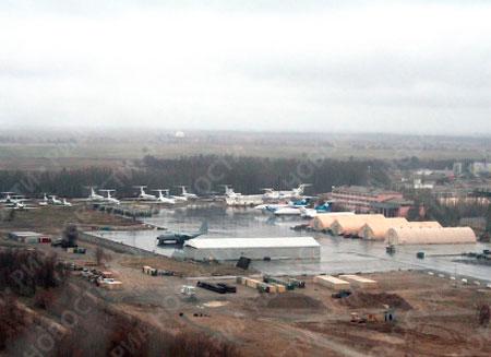 В Кыргызстане разбился американский самолет