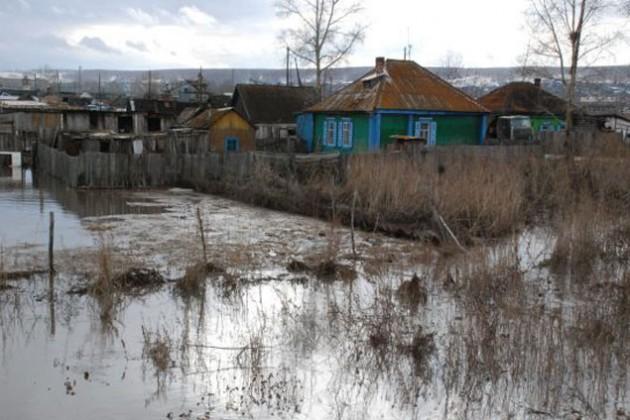 50 населенных пунктов оказались в зоне подтопления