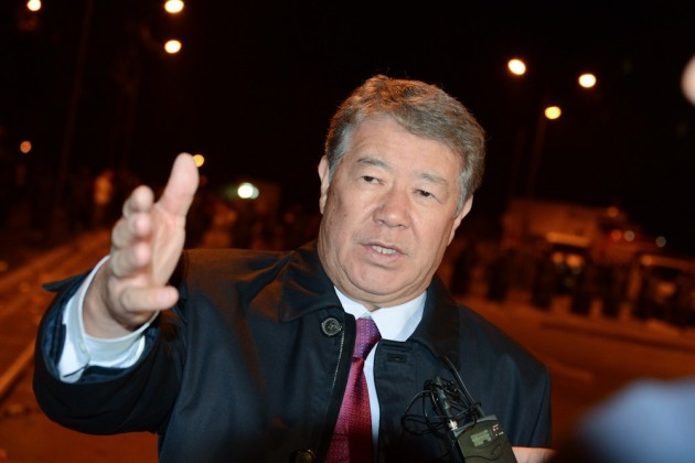 Есимов прокомментировал беспорядки у ТРЦ Прайм-Плаза