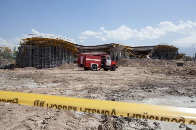 Полиция назначила экспертизы по факту обрушения моста