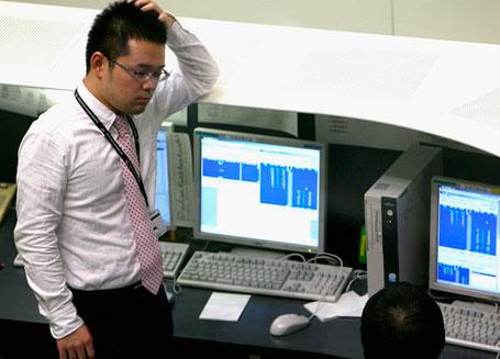 В Японии обвал на рынках акций