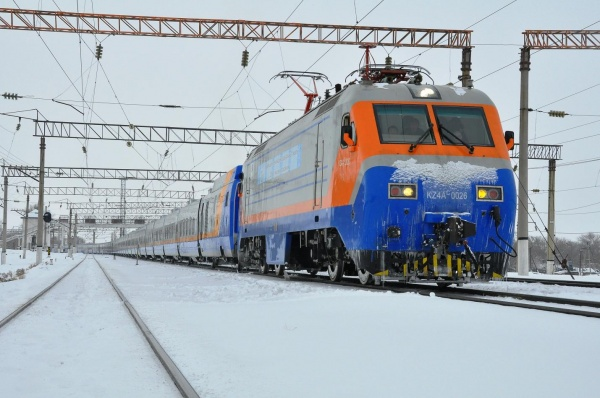 Новый поезд изАлматы вТуркестан запустят в2019году
