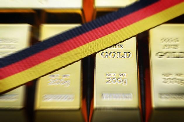 Германия вернула большую часть золотого запаса