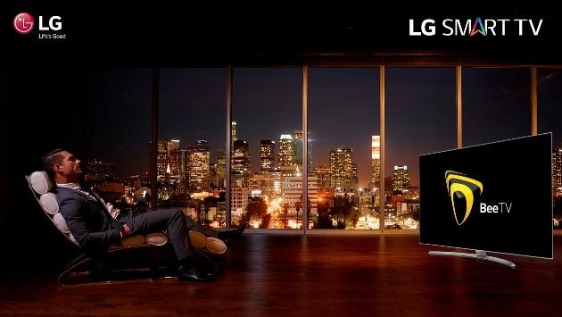 Еще больше телеканалов с LG Smart TV и приложением BeeTV