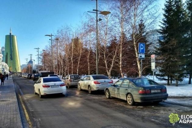 ВАстане создадут 9тысяч платных парковочных мест
