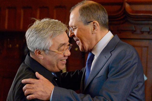В Усть-Каменогорске встретились Идрисов и Лавров