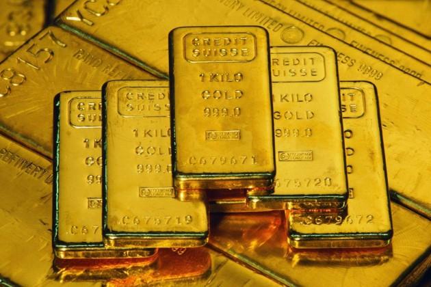Золото подорожало на мировых рынках