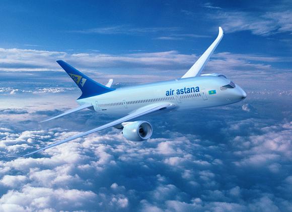 Эйр Астана увеличивает частоту полетов влетнее время