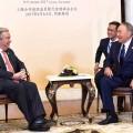 Нурсултан Назарбаев провел встречу сГенсекретарем ООН