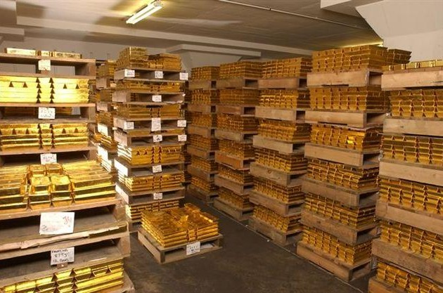 Китай накопил 7 тыс. тонн золота